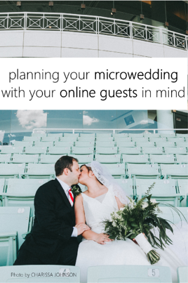 planning your microwedding with online guests in mind