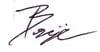 benjie signature