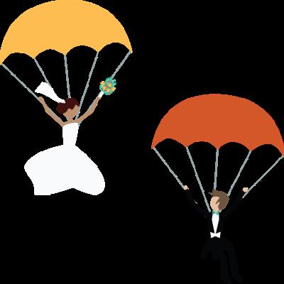 Parachute Couple